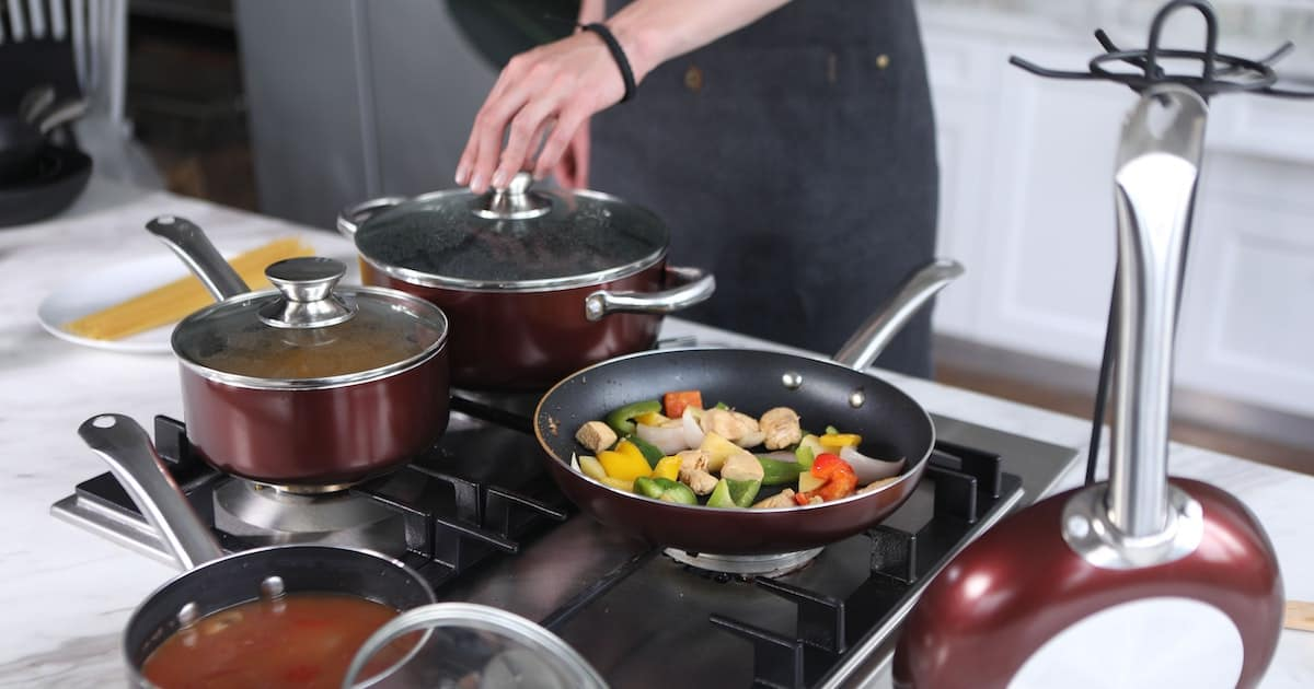 Titanium is known for its strength, its lightness and its durability, so it should come as no surprise that titanium is beginning to be utilized to maximum effect in the cookware industry. If it's good enough for fighter jets, it's good enough for a sauté pan.